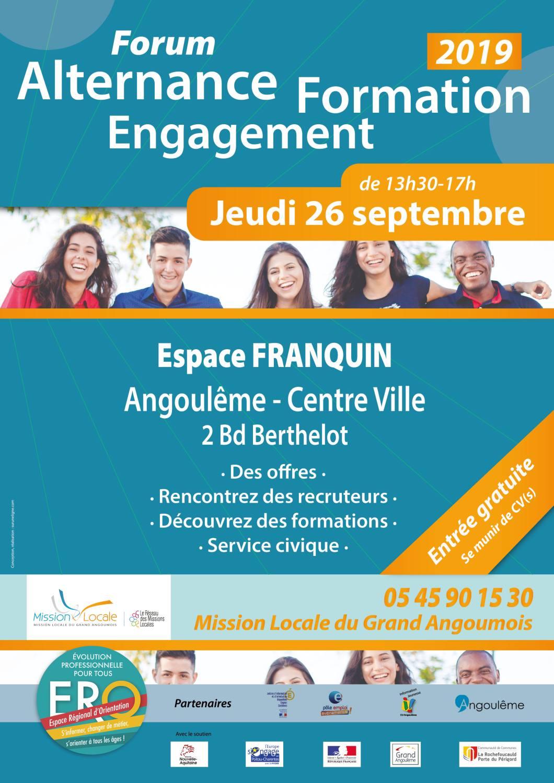 Tera présente au forum Alternance Formation Engagement