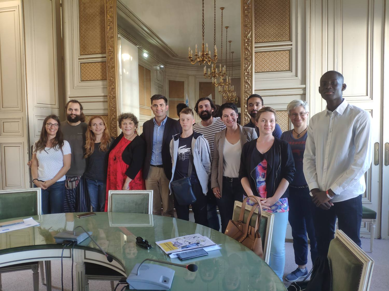 Accueil de la 3eme réunion partenariale dans le cadre du projet Erasmus + you(th) speak(s) !