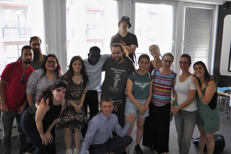 Formation de 5 charentais à Varsovie, Pologne, du 12 au 16 juin 2019