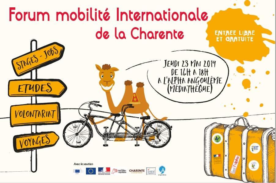 Participation au 1er forum de la mobilité internationale de Charente
