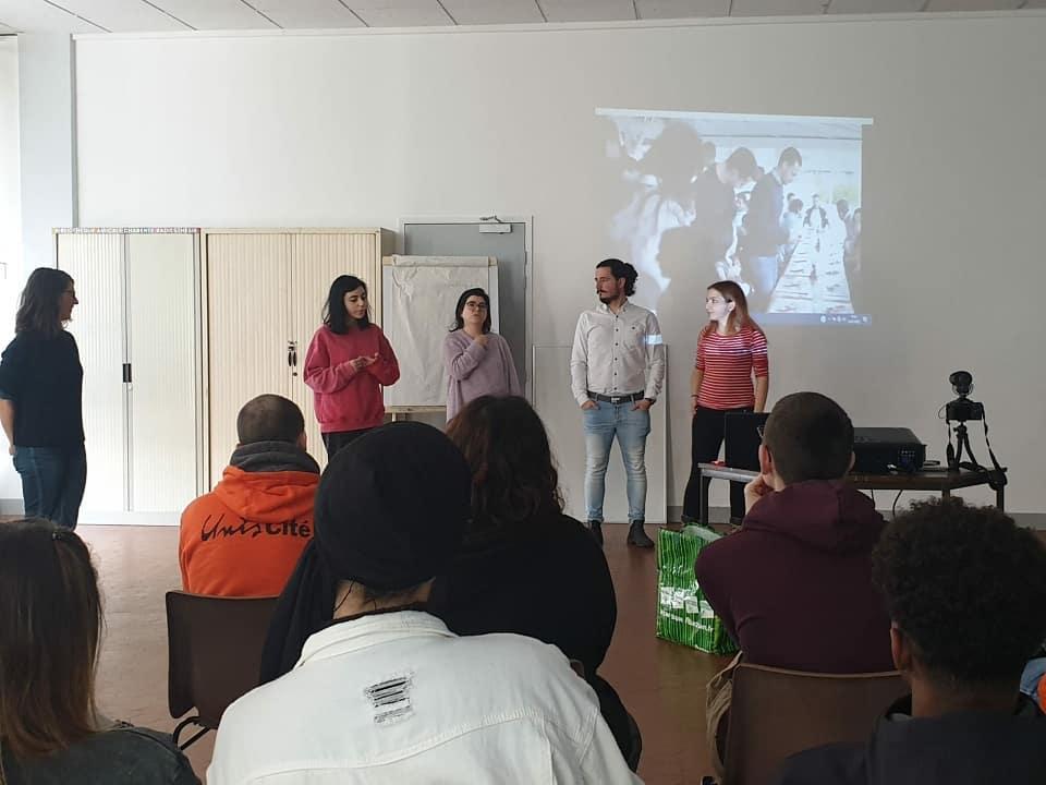 Animation et Témoignage sur le Corps Européen de Solidarité